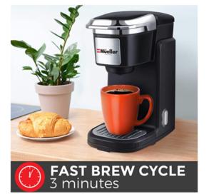 Single cup drip coffee maker